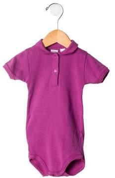 Petit Bateau Girls' Short Sleeve All-In-One