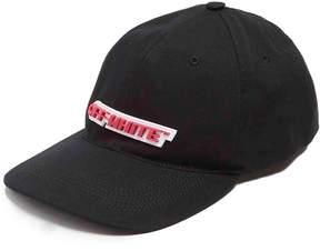 Off-White Logo cotton cap