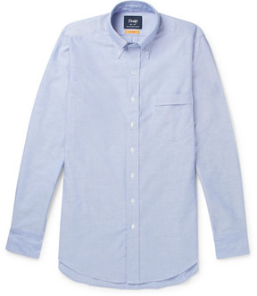 Drakes Drake's Easyday Button-Down Collar Cotton Oxford Shirt