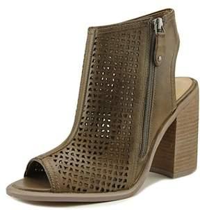 Kelsi Dagger Masonvc Open-toe Leather Bootie.