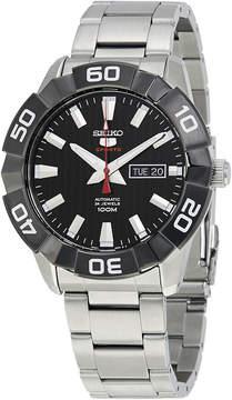 Seiko 5 Black Dial Automatic Men's Watch