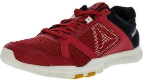 Reebok Men's Yourflex Train 10 Mt Magma / Chalk Gum Ankle-High Training Shoes - 8.5M