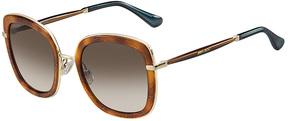 Safilo USA Jimmy Choo Glenn Rectangle Sunglasses