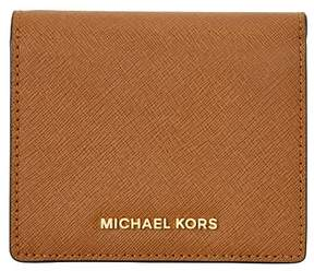 MICHAEL Michael Kors Jet Set Card Holder - LUGGAGE - STYLE