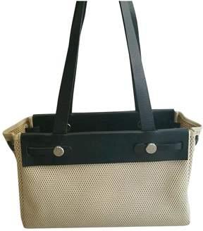 Hermes Herbag leather handbag - BEIGE - STYLE