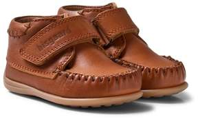 Bisgaard Cognac Prewalker Moccasin Shoes