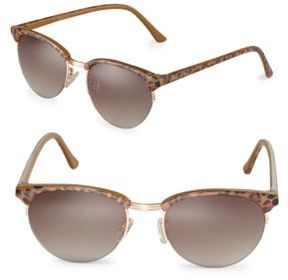 Sam Edelman 55mm Round Sunglasses