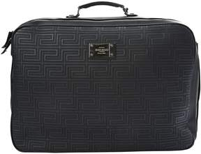 Gianni Versace Leather 48h bag