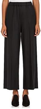 08sircus Women's Felted Wool Wide-Leg Pants