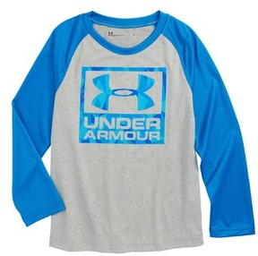 Under Armour Toddler Boy's Geo Cache Long Sleeve Raglan T-Shirt