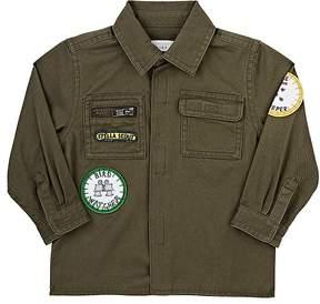 Stella McCartney Infants' Badges Cotton Twill Shirt