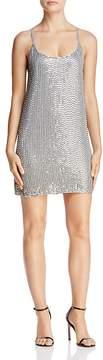 Aqua Embellished Slip Dress - 100% Exclusive