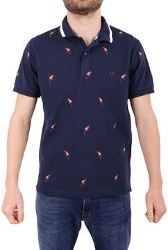 Sun 68 Cotton Blend Piqué Polo Shirt