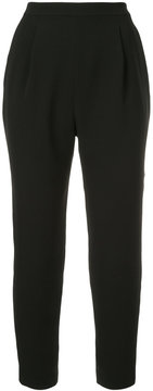 ESTNATION high-waisted cropped trousers