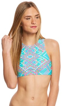Coco Rave All Tied Up Blaze High Neck Bikini Top (B/C Cup) 8160389