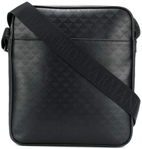 Emporio Armani embossed logo camera case