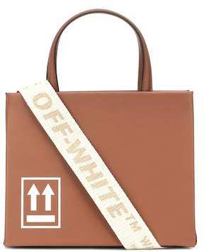 Off-White Mini Box leather shoulder bag