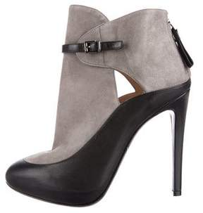 Giorgio Armani Platform Ankle Boots