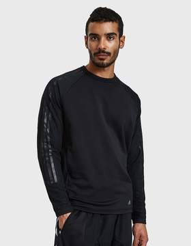 adidas X Kolor Hybrid Crew in Black