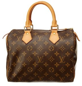 Louis Vuitton Monogram Canvas Speedy 25. - BROWN - STYLE