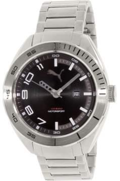 Puma Men's PU103951005 Silver Stainless-Steel Quartz Watch