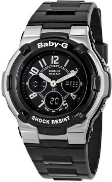 Casio Baby G Shock Resistant Black Multi-Function Sport Ladies Watch