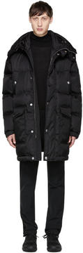Prada Black Down Hooded Jacket