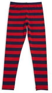 Mini Rodini Baby's, Toddler's, Little Girl's & Girl's Block Stripe Leggings