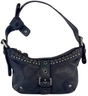 Marc Jacobs Navy Leather Handbag - NAVY - STYLE