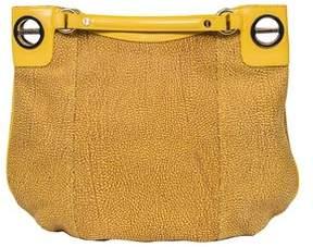 Borbonese Women's Yellow Polyester Handbag.