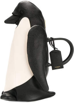 Thom Browne Penguin icon tote