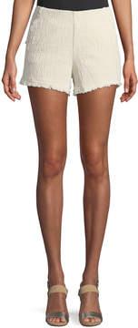 J.o.a. Tweed High-Rise Shorts