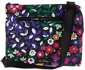 Vera Bradley As Is Lighten Up RFID Triple Compartment Crossbody Bag - ONE COLOR - STYLE