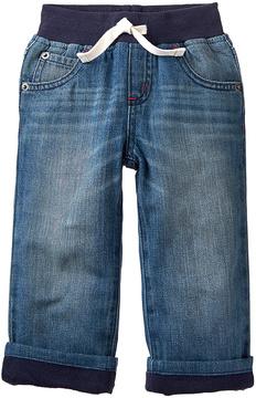Gymboree Dark Wash Lined Denim Pants - Infant & Toddler