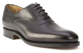 Ralph Lauren Purple Label Men's Leather Oxford Dress Shoes Black.