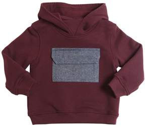 Il Gufo Hooded Cotton Sweatshirt