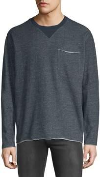 ATM Anthony Thomas Melillo Men's Heathered Cotton Sweatshirt