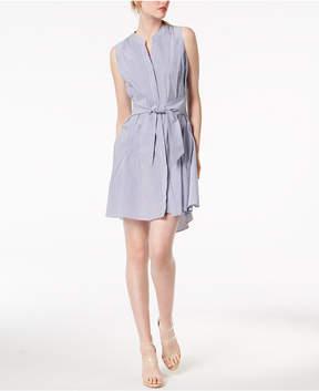 Bar III Sleeveless Tie-Waist Dress, Created for Macy's