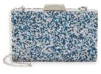 La Regale Embellished Chain Shoulder Bag
