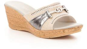 Onex Lynette Hot Fix Stud Wedge Sandals