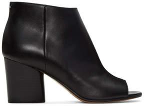 Maison Margiela Black Open-Toe Ankle Boots