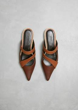 J.W.Anderson Double Strap Pointed Slipper