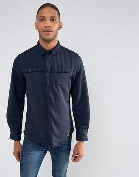 Brave Soul Quilted Panel Shacket