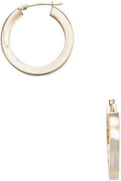 Candela Women's 14K Yellow Gold Square Hoop Earrings