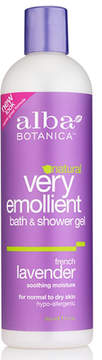 French Lavender Shower Gel by Alba Botanica (12oz Shower Gel)