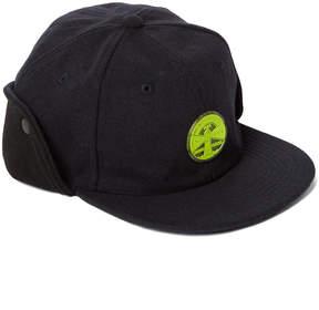 Weatherproof Black & Lime Button-Flap Baseball Cap - Boys