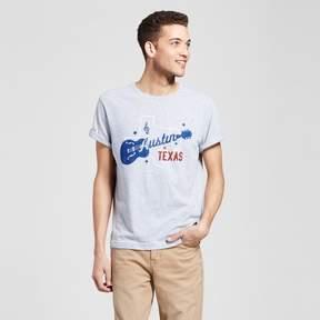 Awake Men's Texas Austin Gee-Tar T-Shirt - Heather Gray