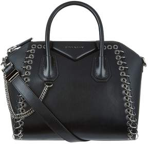 Givenchy Small Leather Eyelet Antigona Tote Bag