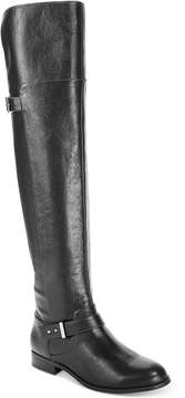 Bar III Daphne Wide-Calf Over-The-Knee Riding Boots, Created for Macy's Women's Shoes