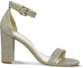 Office Nina block heel metallic sandals